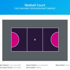 Sports Court Colour Selector - Construction Sealants, Waterproofing & Adhesives in Melbourne Netball, All The Colors, Choices, Layouts, Tennis, Basketball, Coding, Range, Colours