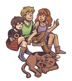 Some meddling kids waiting for their ride Fan Art, Different Drawing Styles, Scooby Doo Mystery Incorporated, Character Art, Character Design, Daphne And Velma, Velma Dinkley, Arte Sketchbook, Film Serie