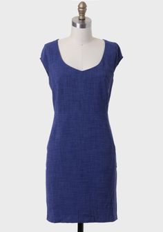 Pretty color.  Love the simplicity of the cut. > Life Of Luxury Sheath Dress at #Ruche @Ruche