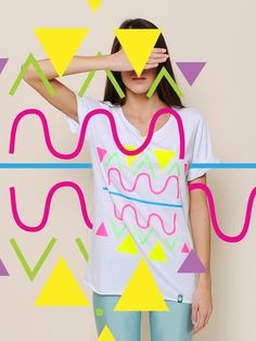 COLORS series consists of six designs copyright-prints for youth clothing…