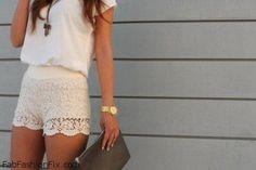 White Hot Summer Look