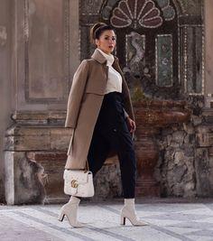 50 крутейших осенних образов на каждый день для стильных дам — Мой милый дом What To Wear Today, How To Wear, Fall Chic, Princesa Diana, Modest Fashion, Spring Fashion, Normcore, Street Style, Coat