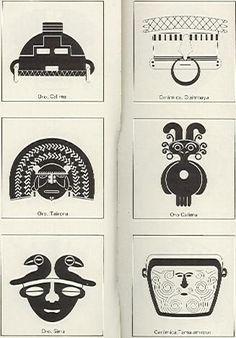 ARQUEOLOGIA QUINBAYA. - Buscar con Google Native Symbols, Native American Symbols, Native Art, Art Paintings For Sale, Original Paintings For Sale, Mayan Glyphs, Colombian Art, Henna Body Art, Arte Tribal
