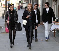 Alexa Chung Photos - Alexa Chung, Pixie Geldof And Nick Grimshaw Out And About In London - Zimbio