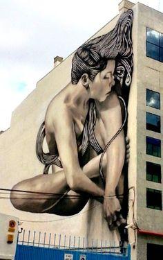 by Sfhir in Madrid, 5/15 (LP) #streetart jd