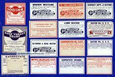 Antique Williston Ny Pharmacy Rx Medicine Bottle Labels Other photo