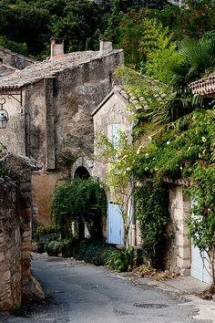 Oppède Le Vieux, Vaucluse, Luberon, Provence, France