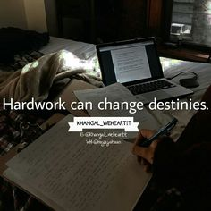 Destiny is what you make wd ur hardworking n efforts...