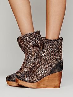 Free People Cabal Wedge Boot