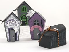 Home Sweet Home Thinlit Coffin Treat Holder - YouTube