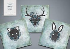 Animal Greetings Cards (pack)