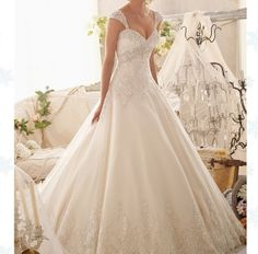 Wonderful Perfect Wedding Dress For The Bride Ideas. Ineffable Perfect Wedding Dress For The Bride Ideas. 2015 Wedding Dresses, Wedding 2015, Princess Wedding Dresses, Wedding Attire, Bridal Dresses, Wedding Gowns, Bridesmaid Dresses, Tulle Wedding, Ivory Wedding