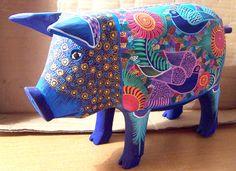 Alebrijes artesanías orgullosamente  mexicanas
