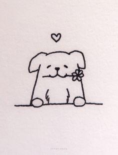 20 Easy Dog Drawing Ideas