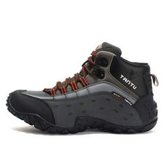 TANTU Waterproof Shoes Big Size Hiking Shoes for Men Breathable Mountain Boots Anti-slippery Trekking Sneakers – Sports & Entertainment Waterproof Hiking Boots, Waterproof Shoes, Trekking Shoes, Hiking Shoes, Men Hiking, Hiking Gear, Nylons, Outdoor Reisen, Shoe Molding
