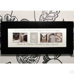 £19.95.Our gorgeous Personalised Affection Art Mr