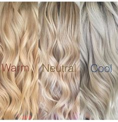 Blonde hair. Natural blonde is the most wonderful shade of all :)