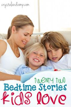 22 awesome bedtime stories your kids will love