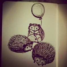 Tiny hedgehogs