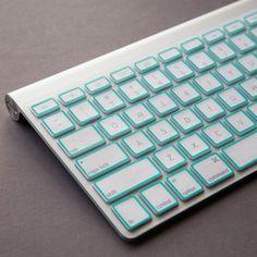 Macbook Pro Keyboard Cover Mint. Love!