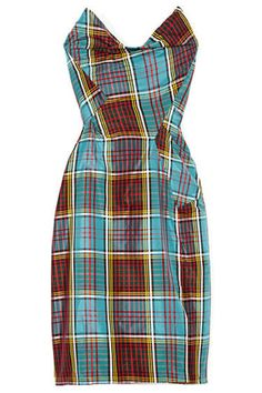 Fall Plaid Dresses - Shop Plaid Dresses for Fall 2013 - Harper's BAZAAR