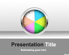 Free Time Shift Template for PowerPoint with dashboard and chart