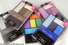 Review & Swatches: Wet n Wild Coloricon 5-Pan Eyeshadow Palettes