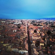 Rooftops of Bologna - Instagram by mikatrustinmika
