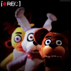 Can you survive one night of cuddling a Five Nights At Freddy's plush?