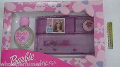 Set Barbie Princess Girls 2.5 Oz Edt Spray + School Stationary Kit + Stickers