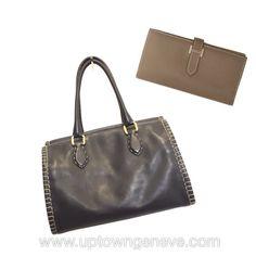 8c637ca54764 New yer new start new bag!  HermèsBearn purse with  Fendi black handbag now