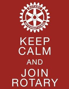 What are you waiting for? Join Rotary!