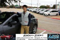 #HappyAnniversary to Robin Kong on your 2014 #Mazda #Mazda3 from Teresa Mayon at Mazda of Mesquite!