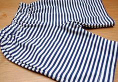 Knit Mud Splashers (free pattern) step-by-step serger tutorial, from Fishsticks Designs