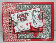 Ticket ATC card 1.13 by eliotstamps - Cards and Paper Crafts at Splitcoaststampers