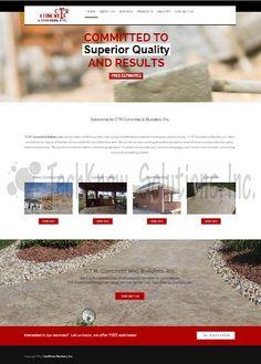 CTR Concrete & Buuilders, Inc. #techknowsolutions