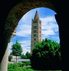 Abbazia di Pomposa, famous for its beautiful mosaic!