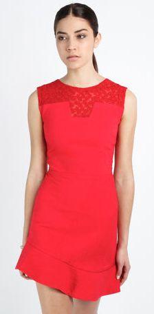Maje 2014 - Red with lace yoke