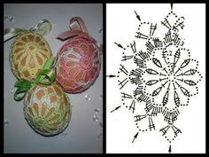 Christmas Archives - Beautiful Crochet Patterns and Knitting Patterns Filet Crochet, Crochet Diagram, Crochet Chart, Crochet Motif, Crochet Flowers, Easter Egg Pattern, Christmas Crochet Patterns, Crochet Ornaments, Crochet Snowflakes