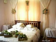 Wedding Room Decorations Bedroom Brides Simple Weddings Baju
