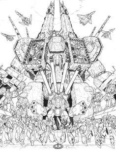 Robotech/Macross by Greg Lane
