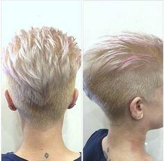 30 Trendy Short Haircuts for 2015 - PoPular Haircuts - kurzhaarfrisuren Undercut Hairstyles, Hairstyles Haircuts, Pixie Haircuts, Hair Undercut, Wedge Hairstyles, Blonde Hairstyles, Bouffant Hairstyles, Beehive Hairstyle, Updos Hairstyle