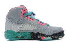 2e100bf4415 136027-036 Air Jordan 5 Miami Vice Custom Women MGmZQ, Price: $89.00 - Air  Jordan Shoes, Michael Jordan Shoes