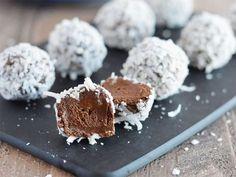 Veganska chokladtryfflar – gjorda på avokado!