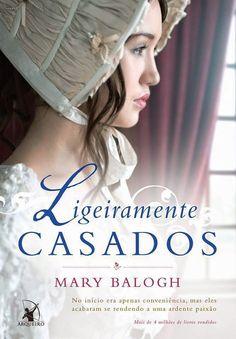 """Saleta de Leitura: Resenha do livro """" Ligeiramente Casados"""" de Mary Balogh"""