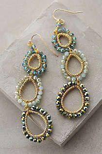 Anthropologie Europe - Beaded Lochan Earrings