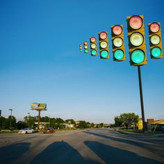 Surreal Photography by Paige Marie Bennett, Traffic Jam.  Paige Bennett, Bennett, Paige, Paige Marie Bennett, Traffic Light, Green Light, Red Light, Surreal, Surrealism, Surrealist, Fantasy, Fantastic, Awesome, Art, Photography, Photographer, SCAD, Savannah College of Art and Design, Artist