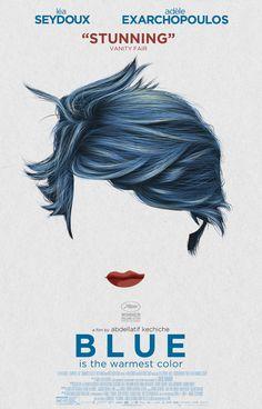 Kékhajú lány: