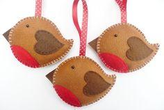 Kreatív karácsony: varrjunk filc díszeket a fára!
