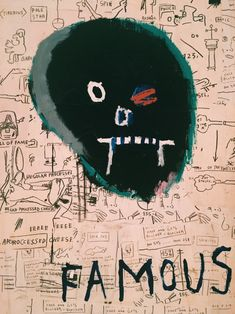 Famous by Jean-Michel Basquiat